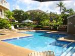 Wailea Grand Champions 2 Pool Spa and Barbecue Areas