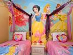 Princess themed room