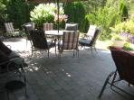 Spacious 1500 sq ft brick patio