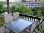 Enjoy a nice dinner or just relaxing on the covered deck.