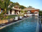 Lord Jim Retreat 18m lap chlorine-free pool  Koh Phangan Seaside Private luxury villa
