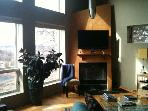 Living room looking to mtns.