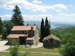 Priello overlooking Monte D'Oglio lake
