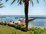Paphos beach