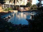 The rock or wading pool - 3 feet deep