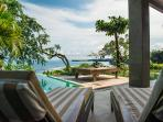 Pool Deck View at The Luxe Bali