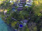 The Luxe Bali from the Air - Right Hand Residence