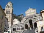 The Dome of Saint Andrew in Amalfi