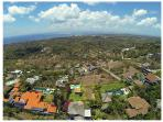 An areal view of the neighborhood, we are perched on a hill top with views to the north and south