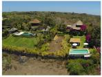 Our property on the right of the photograph in the middle of private Villas
