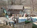 Bring the kids to this fabulous playground in the village!! FUN!!