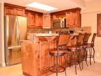 Kitchen is all high end Granite and Marble