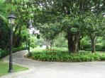 Park near by
