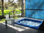 Your own private hot-tub spa