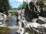 Take a trip down the Kancamagus and visit the many scenic areas
