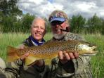 Brown trout from Clark Fork
