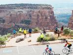Cycle up the road and over the iconic Colorado National Monument 23 mile ride