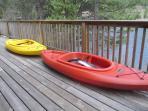 2 new kayaks