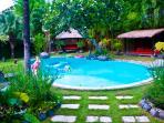 beautiful villa 3 rooms on a plot 1000 m2 to umalas