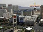 desert club from air before LINQ was built