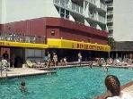 River City Cafe and the outdoor  pool