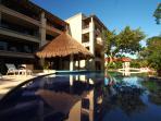 Swimming Pool and Palapa