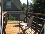 Private Sun Deck with Table & Chairs