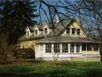 Charming Home - 8 acres on Fall Creek - Sleeps 7
