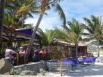 Bikini Beach restaurant,2 mn walk from Côté rêve