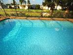 30' large Swimming Pool in 100 yards - Screen enclosed