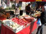 Weekly farmer's markets