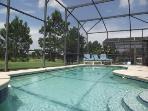 Wow Luxury Disney 5 bed villa pool, spa, g/room!!