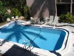 Pool from the condo balcony