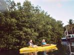 kayaking on Salt River is great!
