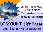 Huge saving on your ski tickets we have unbeatable prices. Live tickets no lines