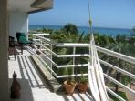 40 foot balcony with expansive view of the Carribean