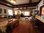 Large Living/Dining Area (with Pull Out King)
