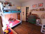2nd Room Kids Bunks with Dbl Futon (not pictured)