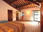 Main unit - Bedrooms are furnished with typical Central Italian crafts, antiques.