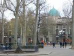 piazza d'azeglio in winter