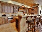Gourmet Kitchen with Full Breakfast Bar, Top of the Line Appliances and Everything you Could Need