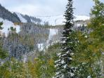 Deer Valley Slopes in Early Winter