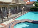 A 5' pool safety fence for piece of mind with young children to protect from pool/spa