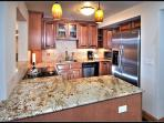 New Cook's Kitchen with Granite counters and Stainless Steel appliances