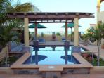 Pool overlooking Sea of Cortez