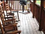 back area of wrap around porch