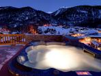 Hot tub - exterior and heated