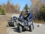 ATV trail system direct access