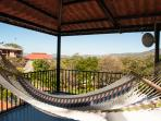Relax in the hammock, admire the view of watch for wildlife from the tower patio