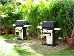 BBQ Grills on property